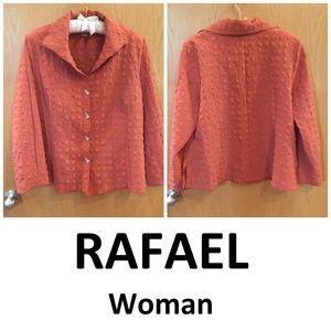 Rafael Top | Blouse Amber Button Up Long Sleeve